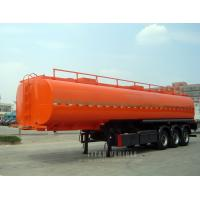 China 3 axle capacity fuel tank trailers service trailers for sale wholesale