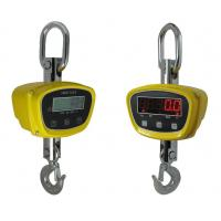 China LED Display Yellow Color Aluminum Digital Crane Scales / Wireless Hanging Crane Balance Precision Weighing Scale wholesale