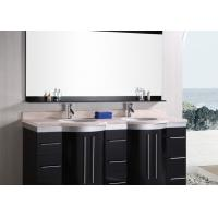 China Bathroom Vanity Countertops Indoor Artificial Stone Double Vanity Tops wholesale