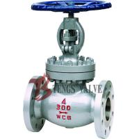 China Carbon Steel Industrial Globe Valve , A216 WCB ANSI Flanged Plug Disc Globe Valve wholesale