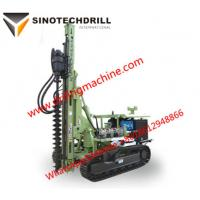 China High efficiency TDS130Yhydrauliccrawlerdrillrig with 90-200 bore diameter wholesale