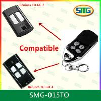 China SMG-015TO Compatible Garage Door Rolling Code Bennica 433MHz Wireless Remote Control wholesale