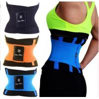 China Waist Trainer Cincher Man Women Xtreme Thermo Power Hot Body Shaper Girdle Belt Underbust Control Corset Firm Slimming wholesale