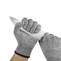 China 13 Gauge Kitchen Cut Resistant Gloves Free Printing Logo Apply To Cut Meat wholesale
