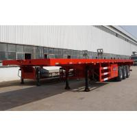 China 3 axle 40 foot flatbed trailer extendable flatbed trailer for sale on sale