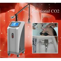 Multifunctional high quality vertical 30W fractional CO2 laser machine for sale