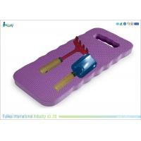 China Purple And Light Blue EVA Foam Kneeling Pad Waterproof 400 * 200 * 20mm on sale