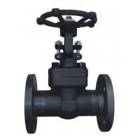 China 2500Lb Forged steel Globe Valve wholesale