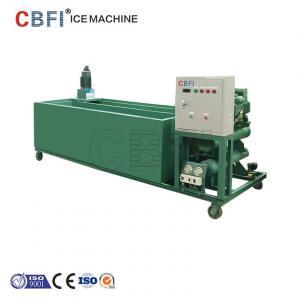 Buy cheap 1000Kg - machine de bloc de glace de la capacité 100000Kg avec le contrôleur de PLC from wholesalers