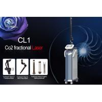 Air Cooling rf facial Fractional Co2 Laser Machine , Fractional Co2 Laser 10600nm Skin Tightening Machine