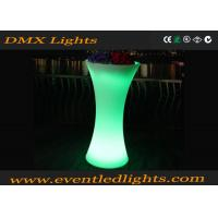China Outdoor / Indoor Illuminated LED Flower Pots For Garden , Eco Friendly Plastic Material wholesale