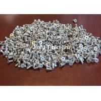 China Pure Titanium Cross Recessed Pan Head Machine Screw  DIN965  Good Corrosion Resistance on sale