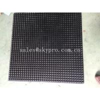 China Round stud rubber matting high height coin rubber mats smooth wholesale