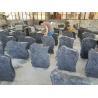 China Memorial Granite Stone Tombstone Classic / Modern Design Dark Gray Color wholesale