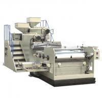 China LLDPE Film Blowing Machine , Twin Screw Extruder Machine High Speed wholesale