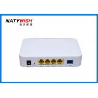 Buy cheap Plastic Optical Network Terminal ONT , 1GE + 3FE 4 Ports Optical Network Unit from wholesalers
