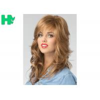China European Hair Wig Synthetic Full Head Glueless Long Heat Resistant Hair Wigs wholesale