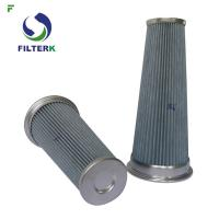 China Pleated Vacuum Cleaner Air Filter Cartridge PTFE Material 0112311 Model wholesale
