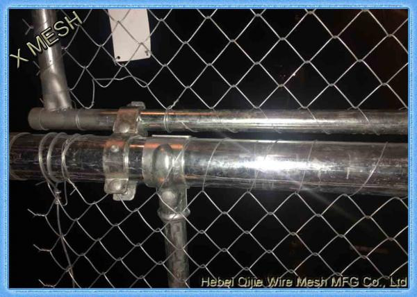 Quality Commercial And Residential PVC Coated Chain Link Fencing 1.5 Inch ISO Listed for sale