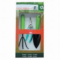 China Garden Tool Set, Made of Steel and Plastic wholesale