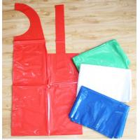 China Plastic HDPE LDPE Throw Away Aprons Disposable Single Folded Waterproof wholesale