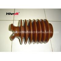 China Brown Color Post Type Insulator , Pin Post Insulator OEM Available wholesale