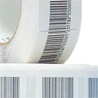 China Custom 8.2Mhz Paper 4*4 Anti theft Seal Sticker china Retail Store Security EAS Soft on sale