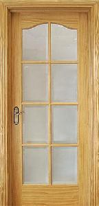 Quality Pine Wooden Door (KD08C-G) for sale