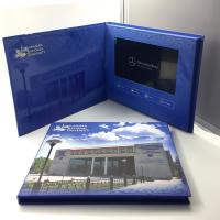 Quality A45 matt cover 4.3 inch 5 inch promotion business gift lcd video brochure card for sale