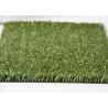 Healthy Residential Tennis Court Fake Grass Carpet SBR Latex PU Backing