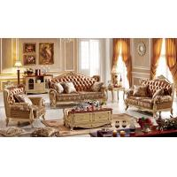 Buy cheap Antique Carving Design Luxury Sofa Set from wholesalers