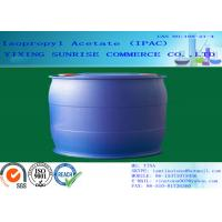 China IPAC Isopropyl Acetate Paint Solvent CAS 108-21-4 With Pleasant Fragrance wholesale