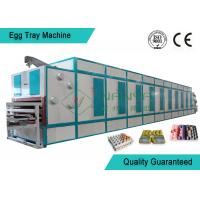 China 6 Layer Dryer Fast Automatic Pulp Moulding Machinery For Egg Tray / Egg Box wholesale