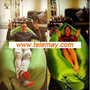 Spot sales hot hangout bag,backpacking sleeping bag,inflatable mattress,camping beds