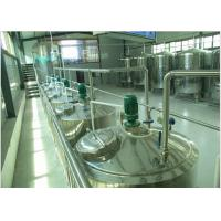 China Can Package Soft  Drinks Production Line With Bottle Inverted Sterilizer wholesale