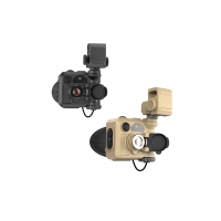 China 2X 4X Thermal Imaging Goggles 320×240 With F1.0 Objective Lens wholesale