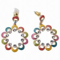 China Alloy Jewelry, Alloy Earring Jewelry, Earrings, Earrings Jewelry, Fashionable Earrings/Hoop Earrings wholesale