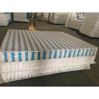 China High Carbon Steel Wire Mattress Pocket Spring Unit With Non Woven Fabric Cover wholesale