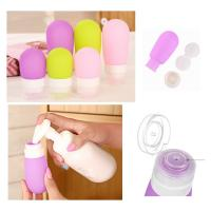 China Lamp shaped Silicone Portable Liquid soap dispenser bottle  / Shampoo dispenser bottle wholesale