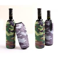China Camouflage anti-collision Neoprene Wine Cooler,bag/cup/red wine holder wholesale