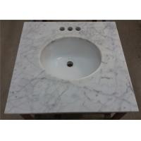 Buy cheap Customized Marble Vanity Tops 25 Inches For Bathroom Countertops from wholesalers