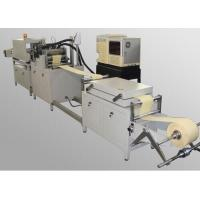 China 12KW High Power Air Filter Rotary Pleating Machine with 50mm Height Roller on sale