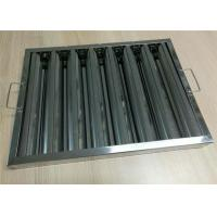 China Cleaning Extractor Restaurant Hood Filters , Grease Filters For Kitchen Hoods wholesale