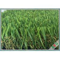 China Anti Color Fading Outdoor / Indoor Artificial Grass Great Weather Adaptability wholesale