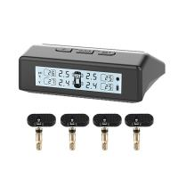 Solar Powered Truck Tire Pressure Monitoring System TPMS With 4 Internal Sensors