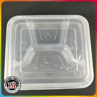 China Microwave Food Container with lid Divided Plate Bento Box on sale