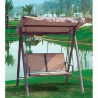 China 168x134x175cm swing chair, cover made of textilene and polyester wholesale