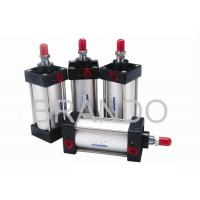 China Festo DNC Dual Action Pneumatic Air Cylinder Low Start Pressure With Square Tube wholesale