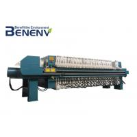 China Hydraulic Plate And Frame Filter Press For Sludge Oil  Solid Liquid Separating on sale