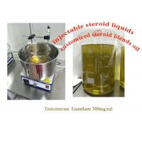China Semi Finished Oil safe anabolic steroid Testosterone Enanthate 300mg/Ml For Muscle wholesale